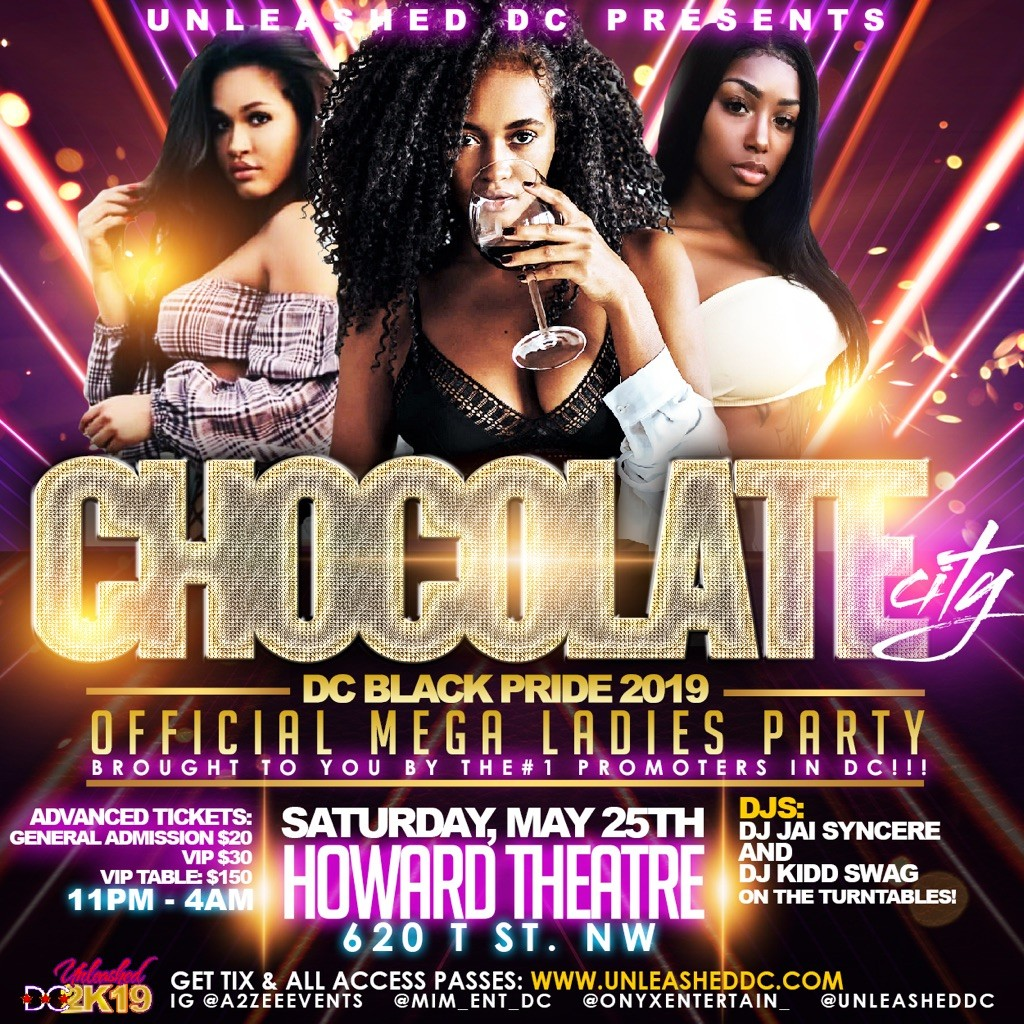 Chocolate City Invasion: The MEGA Women's Party at The Howard Theatre
